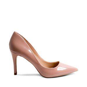 NEW Steve Madden Rose Blush Patent Heels | Size 8